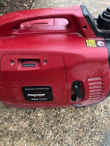 Generador Inverter 230V50Hz