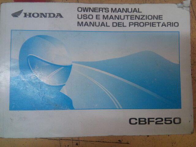 DESPIECE HONDA CBF250 Y CB250 TWO FIFTY - foto 1