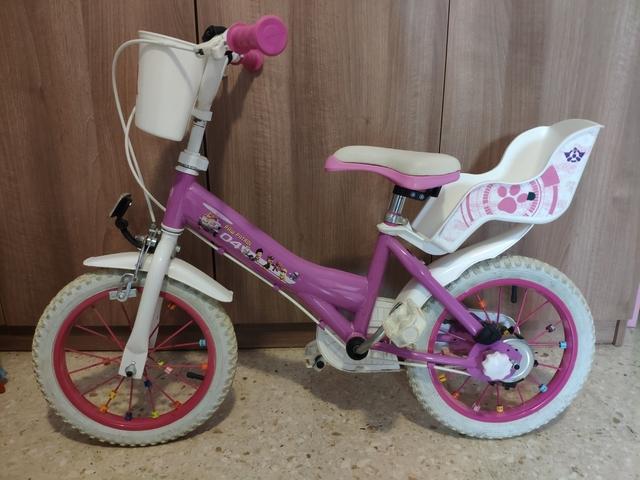 Bicicleta Patrulla Canina 14 Pulgadas