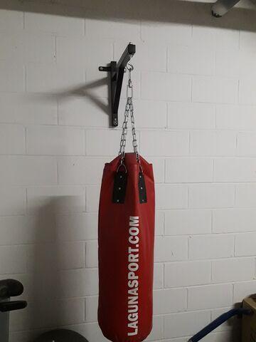 Saco Boxeo Con Soporte