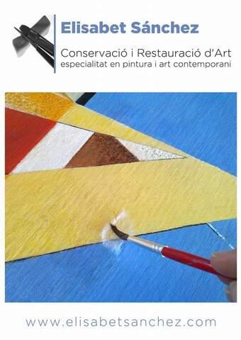 RESTAURACIÓ D ART - ELISABET SÁNCHEZ - foto 1