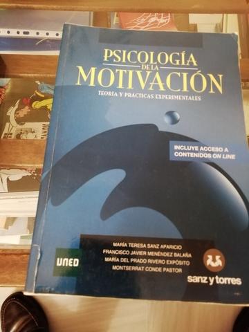 PSICOLOGÍA DE LA MOTIVACIÓN.  UNED - foto 1