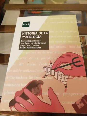 HISTORIA DE LA PSICOLOGÍA.  UNED - foto 1