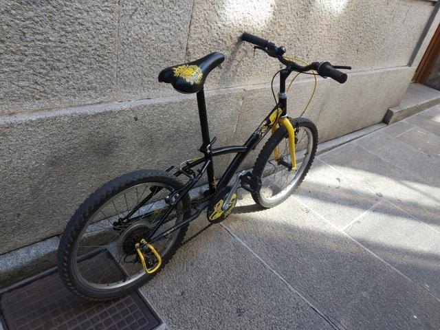 Estupenda Bicicleta Decathlon