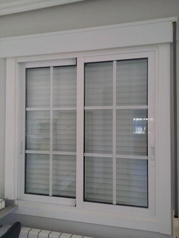 Ventanas Climalit Aluminio Lacado Blanco