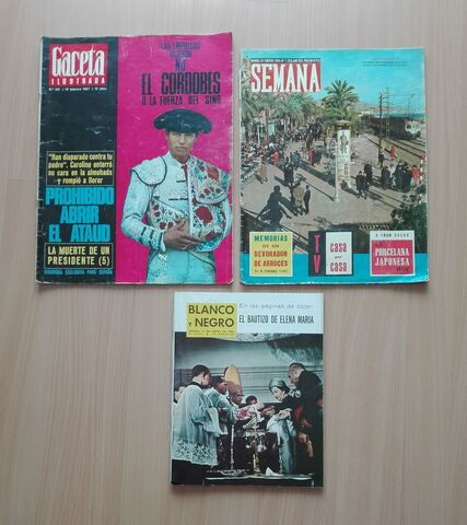 Revistas Antiguas 1964 Y 1967