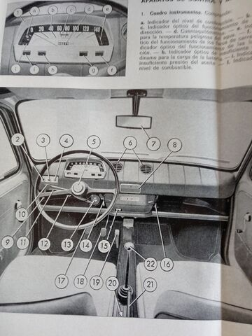 LIBRO MANTENIMIENTO SEAT 850 - foto 3