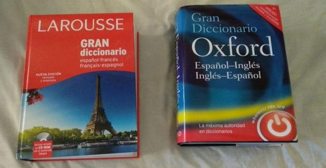 GRAN DICCIONARIO DE OXFORD Y LAROUSSE FR - foto 1