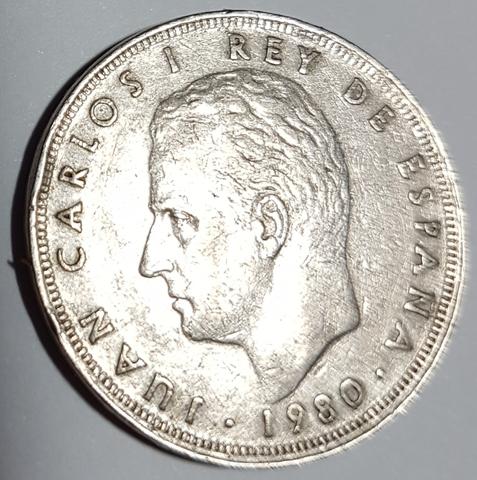 25 Pesetas Año 1980 *80 (Mundial 82)