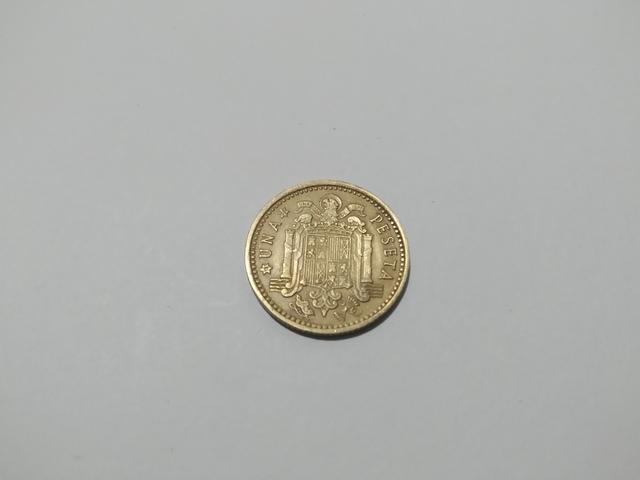 1 Peseta Del Año 1966