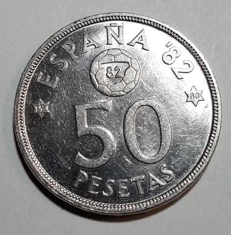 50 Pesetas Año 1980 *80