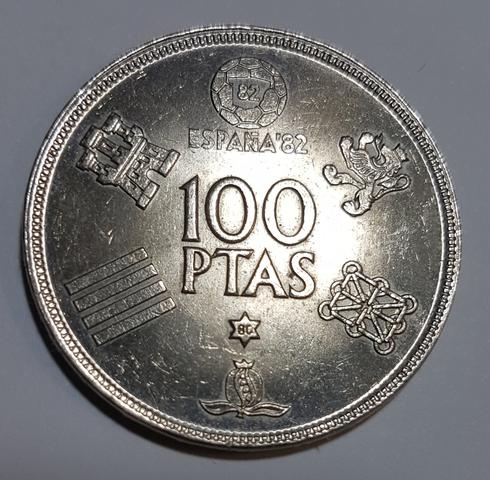 2 Monedas De 100 Pesetas Año 1980 *80.