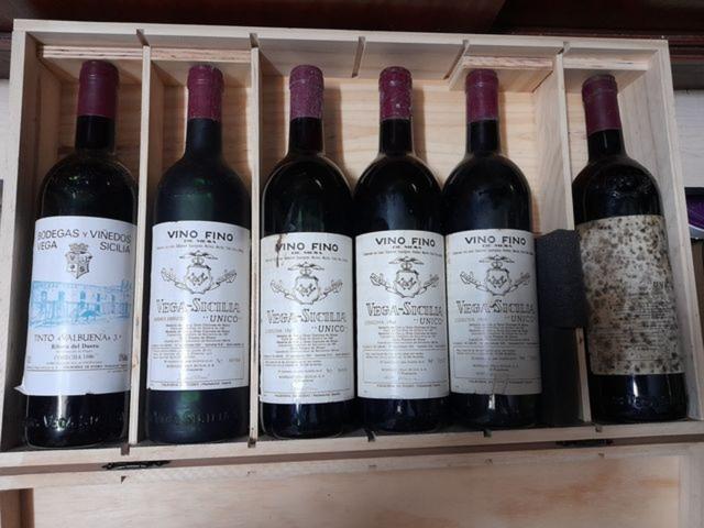 Vendo Vega Sicilia Vinos Rioja
