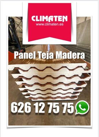 Panel Sandwich Teja Lanzarote