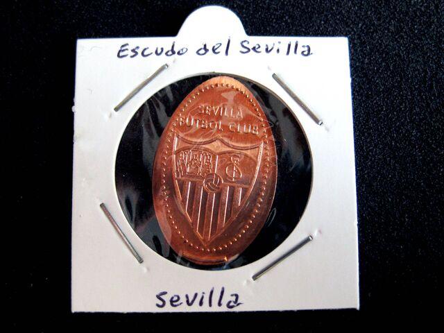 MONEDAS ELONGADAS SERIE SEVILLA Y BETIS - foto 2