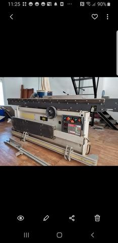 Maquinaria De Carpintería Escuadradora