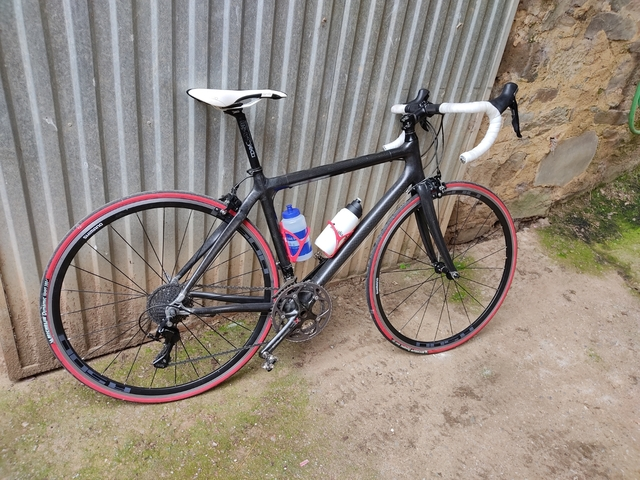 Bici Carbono Shimano 105