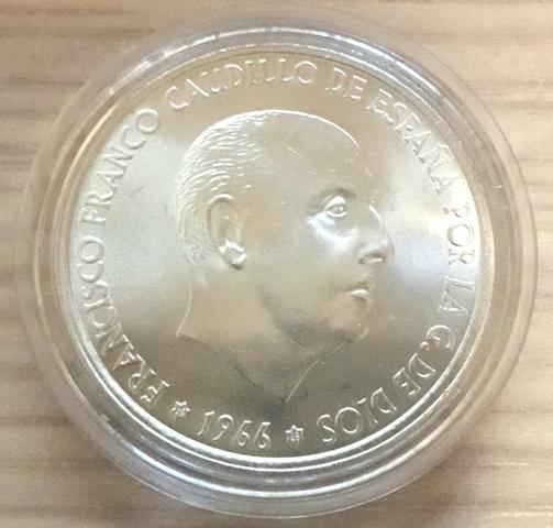 100 Pesetas De Franco 1966 Estrella * 68