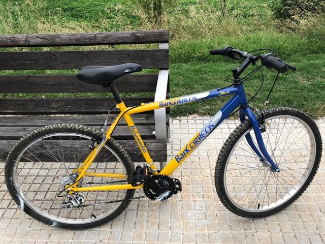 Bicicleta Aluminio Talla M.