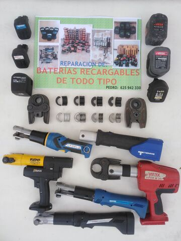 Reparación Baterías Maquinas Multicapa