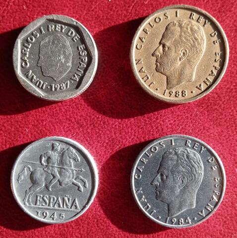 Lote De 12 Monedas Pre Euro