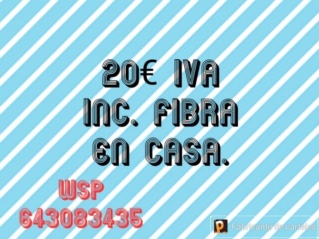 FIBRA EN CASA Y MOVILES - foto 1