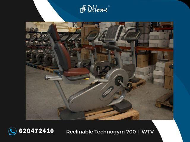 BICICLETA RECLINABLE TECHNOGYM 700 I WTV - foto 1