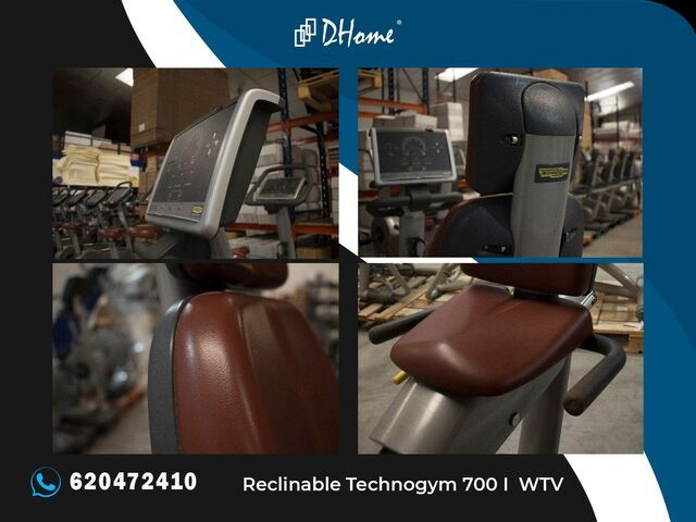 BICICLETA RECLINABLE TECHNOGYM 700 I WTV - foto 2