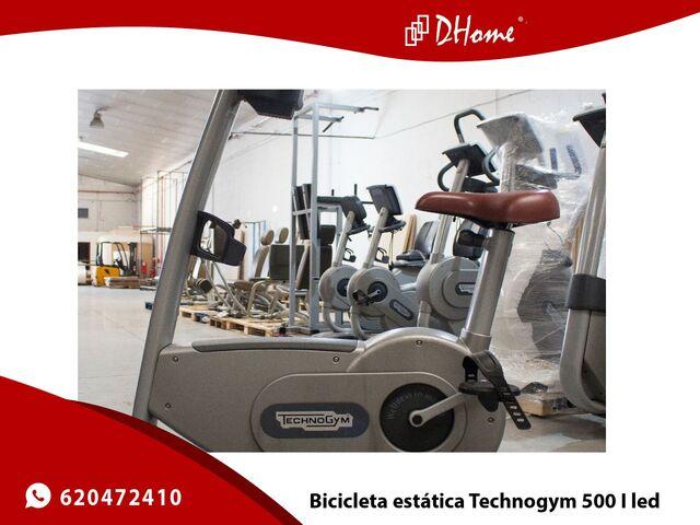 BICICLETA ESTATICA TECHNOGYM 500 I LED - foto 1