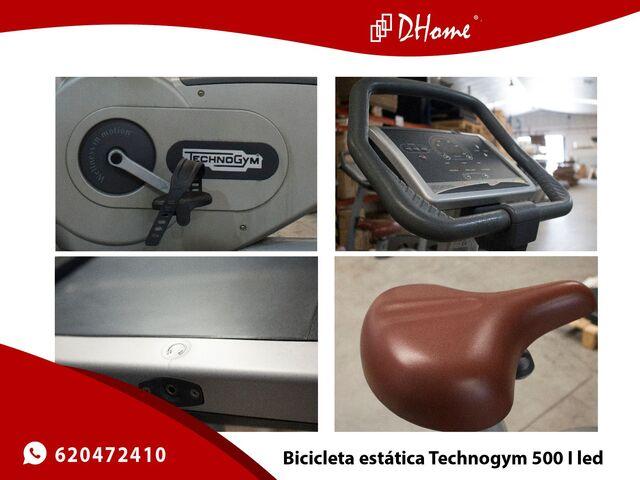 BICICLETA ESTATICA TECHNOGYM 500 I LED - foto 2