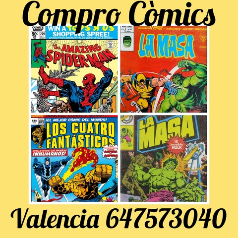 COMPRO COMICS SUPERHEROES USA AÑOS 70/80 - foto 1
