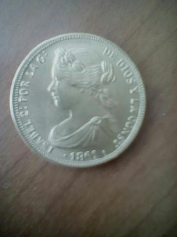 Moneda Oro 100 Reales
