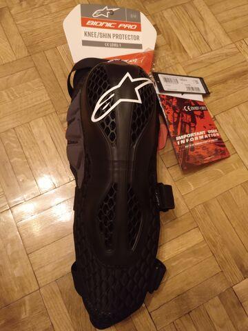 Rodilleras Alpinestar Bionic Pro T.  S-M