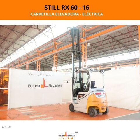 CARRETILLA STILL ELÉCTRICA BATERÍA 92% - foto 7