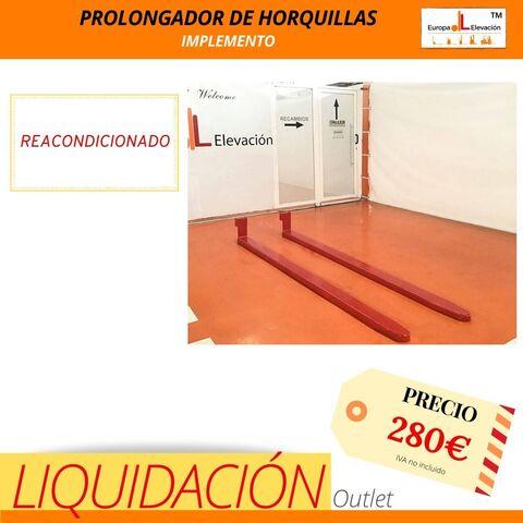 PROLONGADOR  HORQUILLAS* / - foto 1