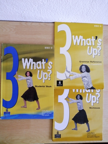 """PACKS LIBROS INGLÉS \\\""""WHAT\\\'S UP?\\\ - foto 1"""