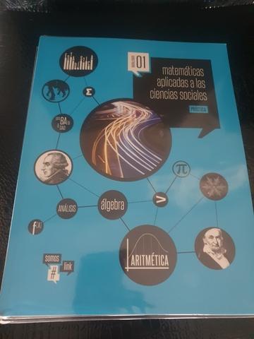 LIBRO DE MATEMÁTICAS 1 BACHILLERATO - foto 1