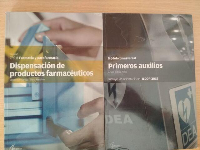 LIBROS CFGM FARMACIA Y  PARAFARMACIA - foto 1