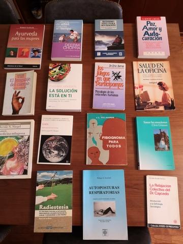 15 LIBROS SOBRE SALUD MENTAL,  POSTURAS. .  - foto 1