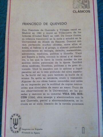 FCO.  QUEVEDO,  A. CASONA Y BENITO P. GALDOS - foto 3