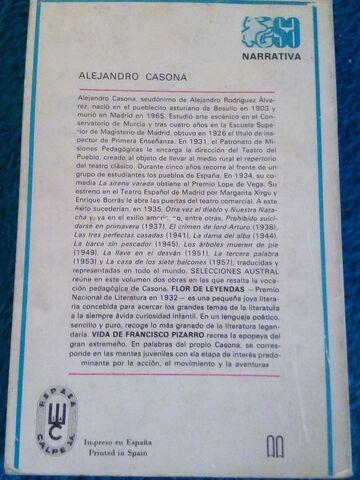 FCO.  QUEVEDO,  A. CASONA Y BENITO P. GALDOS - foto 5