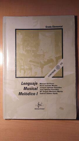 LENGUAJE MUSICAL MELÓDICO I - foto 1