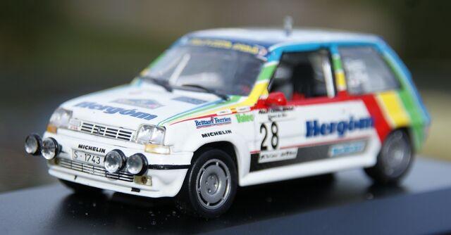 Renault 5 Gt Turbo Transkit Rallye Costa