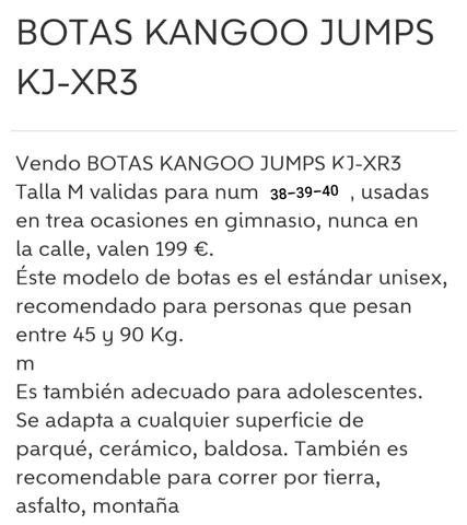 BOTAS DE REBOTE KANGOO JUMPS - foto 4