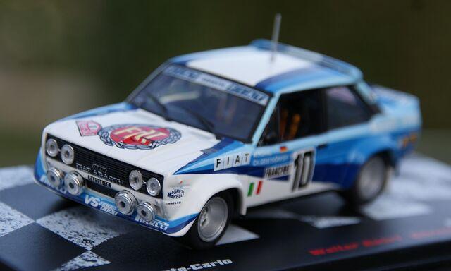 Fiat 131 Abarth Rallye De Montecarlo 198