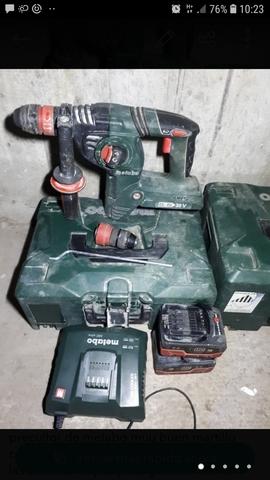 Martillo Precultor Taladro Bateria 36V