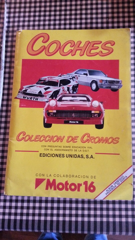 Album De Cromos De Cotxes 1986 Completo