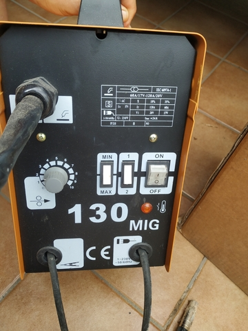 Soldador De Hilo Sin Gas 130 Amperios
