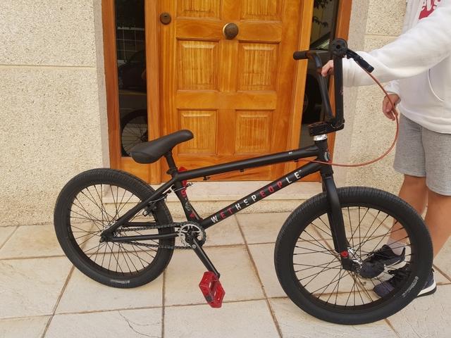 Bicicleta Bmx  Wethepeople Como Nueva.