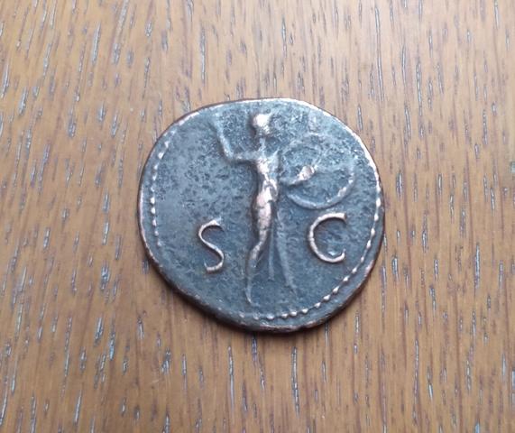 Moneda Antigua Claudius Caesar